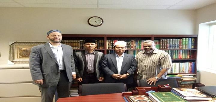 Saat Kiai Ali Mustafa Yaqub Bersafari Ramadan di Kanada