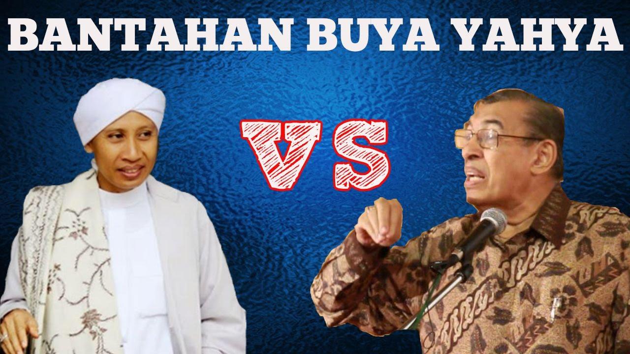 Bantahan Buya Yahya atas Pernyataan Quraish Shihab Soal Nabi Tak Dijamin Surga