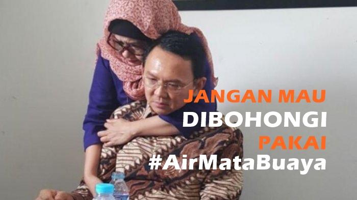 Jangan Mau Dibohongi Pakai #AirMataBuaya! Biasanya Petentang-petenteng, Disidang Kok Nangis?