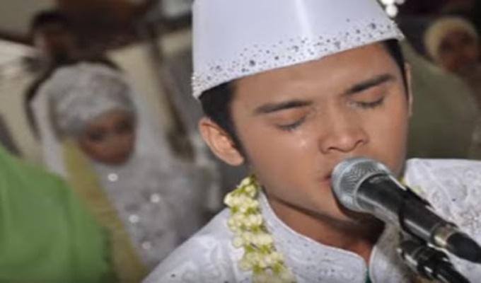 Bermahar Surah Ar-Rahman, Pemuda Ini Menikahi Istrinya, Hadirin Menangis Haru