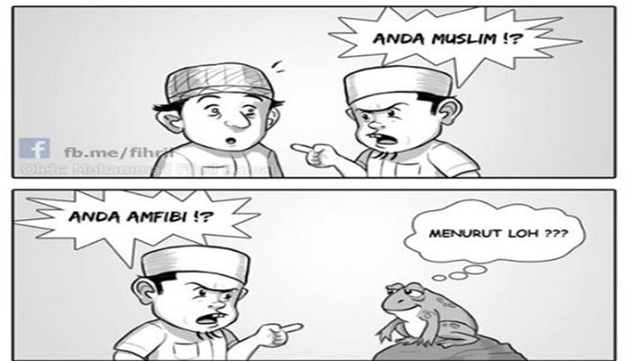 Jangan Gunakan Ujaran Ini Bila Beda Pendapat dengan Sesama Muslim