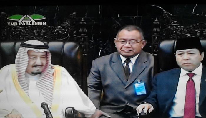 Dosen Prodi Tarjamah UIN Jakarta Jadi Penerjemah Raja Salman di DPR